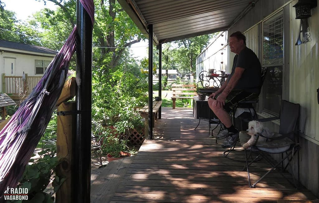 As the sun slowly started to set, I sat down with Big Ed on his front porch