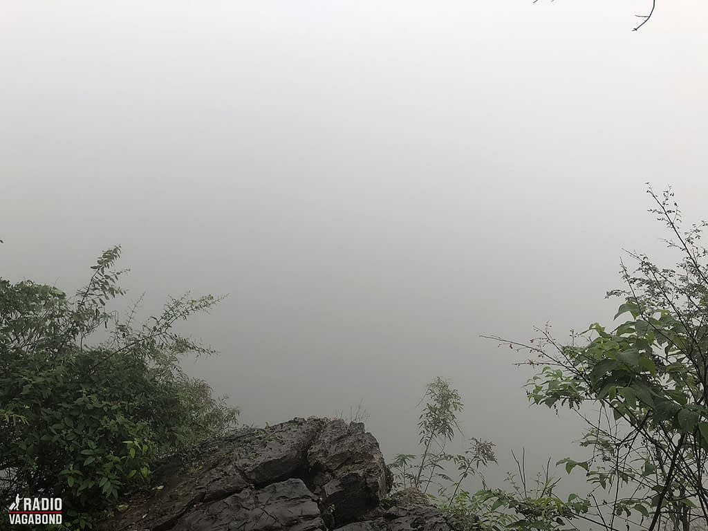 The view would be better without the fog.