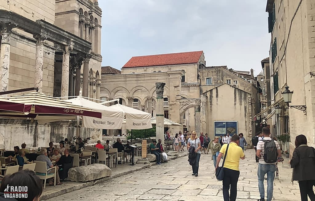 You find a lot of wonderful restaurants and cafés in Split.