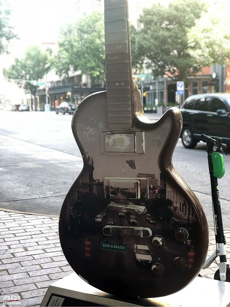 You notice that the music is a big thing in Austin.