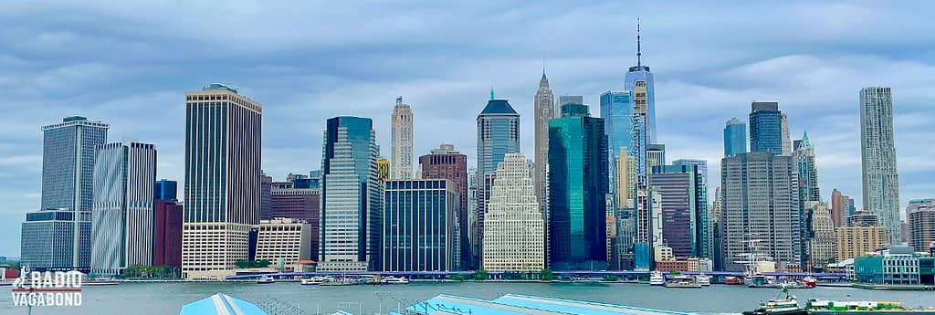 No matter how many times you've seen it – the Manhattan skyline is so iconic.