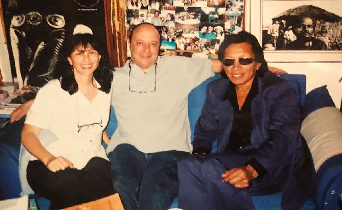 """Rodriguez also visited Sugar in the """"man-cave"""""""