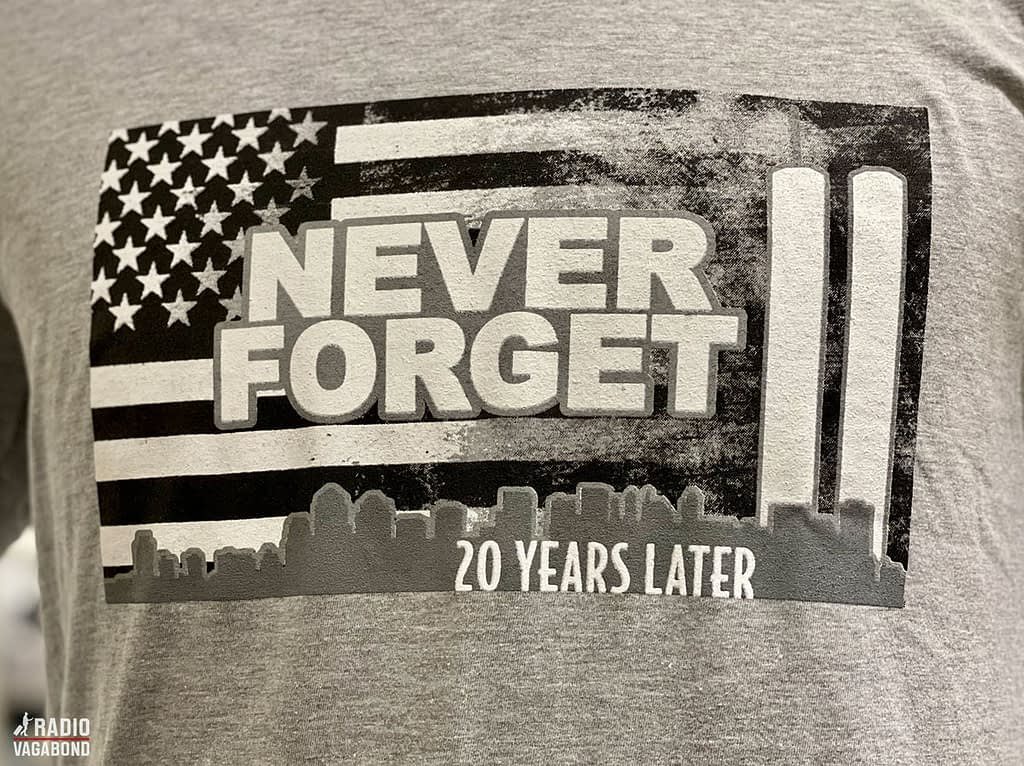 This t-shirt in the 9/11 Memorial & Museum gift shop says it all.