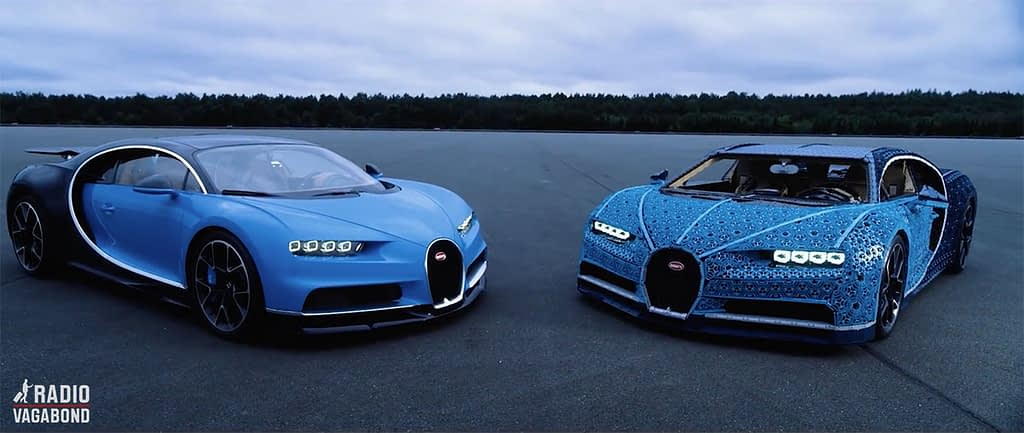 In the second season of the podcast series, we follow the built of a 1-1 life-size LEGO model of the Bugatti Chiron.