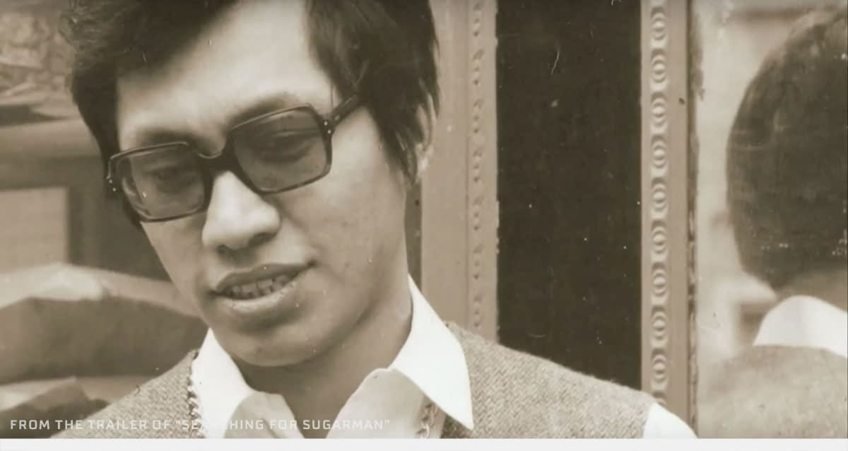 The young Sixto Rodriguez