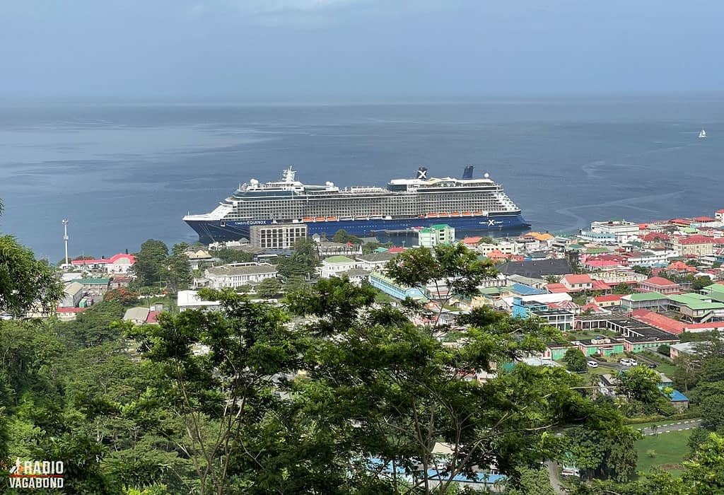 I see Celebrity Equinox (my home) from above