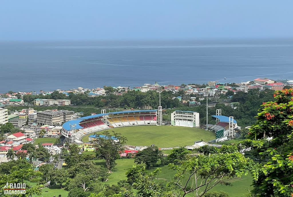 The construction of the multi-purpose Windsor Park Stadium was paid for by China as a gift to the people of Dominica.