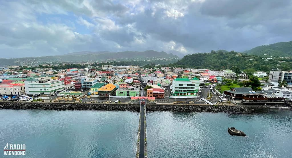 First view of Dominica